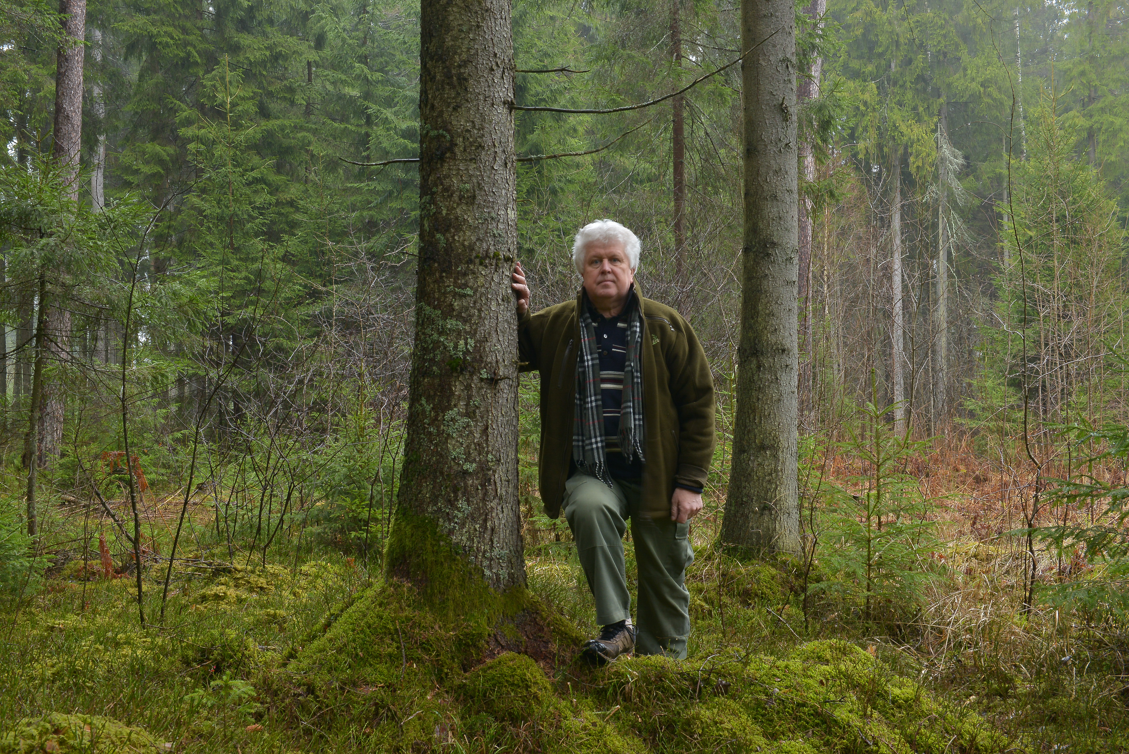 Gamtininkas, fotografas ir aplinkosaugininkas Selemonas Paltanavičius.