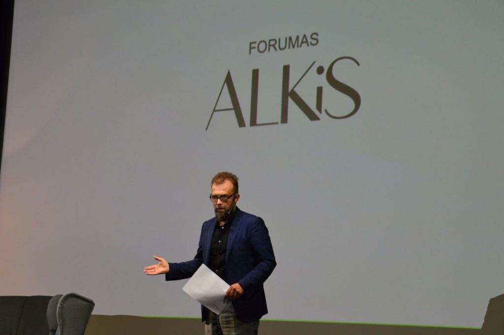 """Rytis Zemkauskas pristatė """"Kaunas 2022"""" viziją ir dalyvavo diskusijoje su būsimų kultūros sostinių atstovais."""